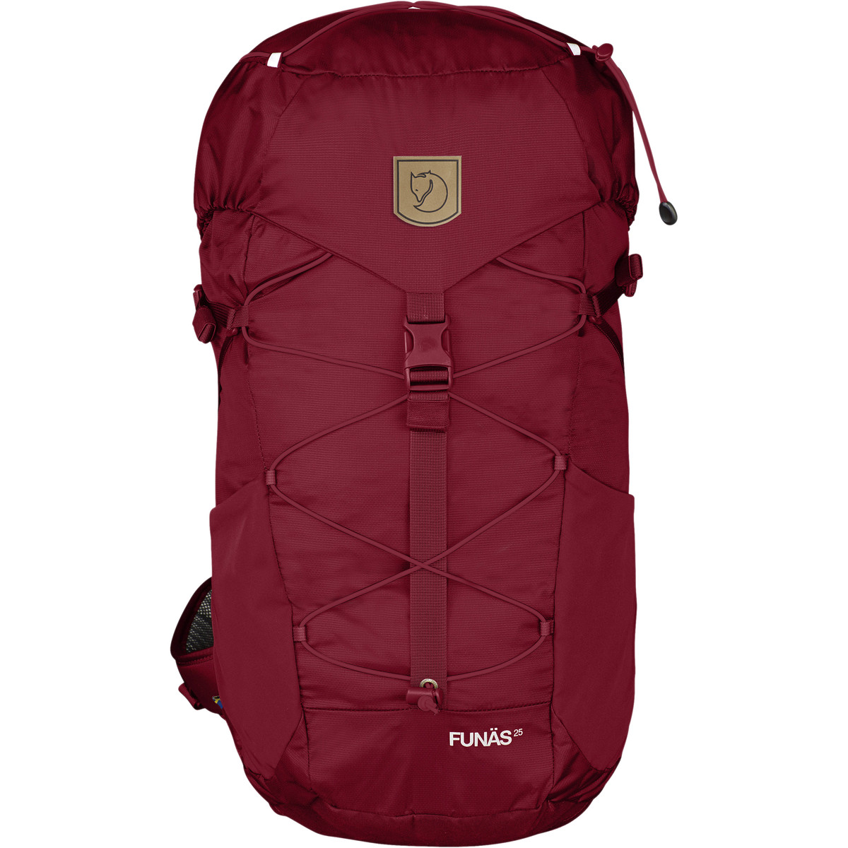 photo: Fjallraven Funas 25 daypack (under 2,000 cu in)