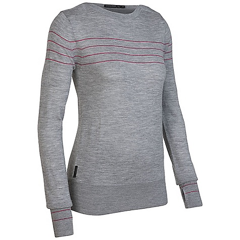photo: Icebreaker Athena Boatneck Sweater base layer top