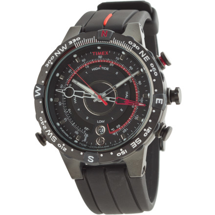 photo: Timex Expedition E-Tide Temp Compass Watch handheld compass