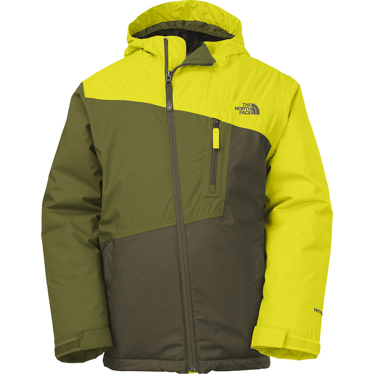 photo: The North Face Boys' Gonzo Insulated Jacket synthetic insulated jacket