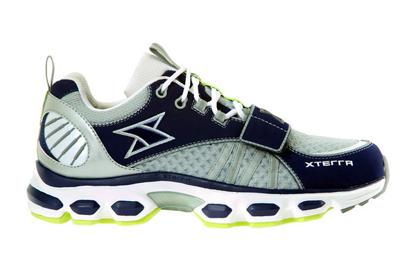 photo of a Xterra trail running shoe