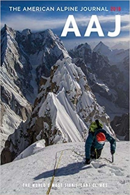 photo: The Mountaineers Books American Alpine Journal climbing book