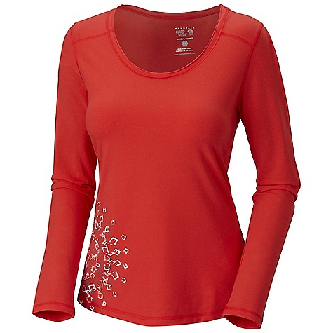 photo: Mountain Hardwear Lhasa L/S T long sleeve performance top