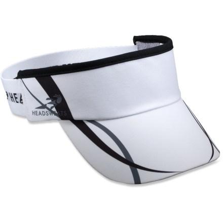 photo of a Headsweats visor