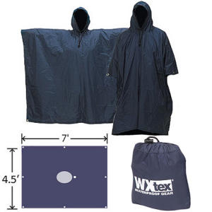photo of a Pacific Outdoor Equipment waterproof jacket