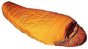 photo: Feathered Friends Snow Goose cold weather down sleeping bag