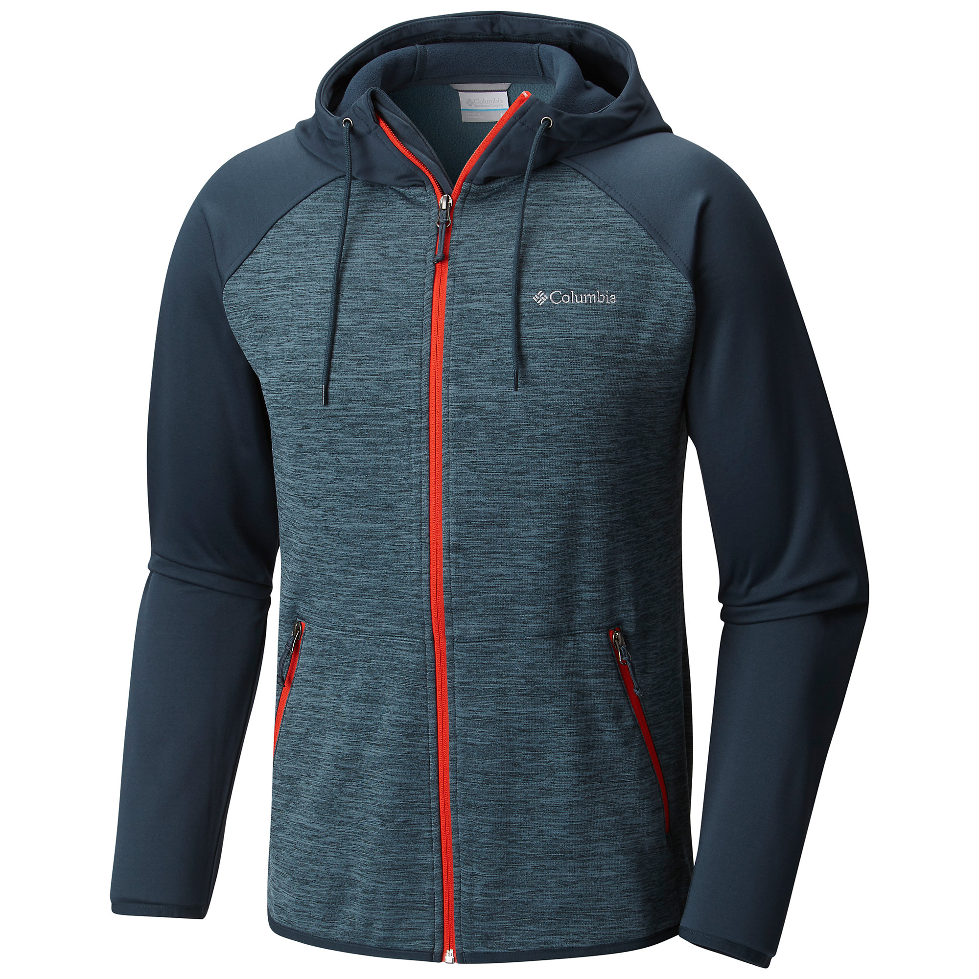 photo: Columbia Waldo Lake Full Zip Hoodie fleece top