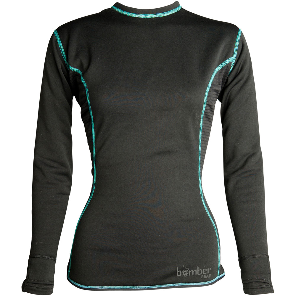 photo: Bomber Gear Hydrogen Neoprene Long Sleeve Top long sleeve paddling shirt