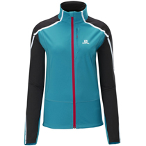 photo: Salomon Dynamics Jacket soft shell jacket