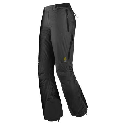 photo: Mountain Hardwear Piste Pants soft shell pant