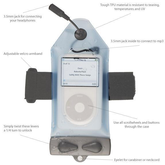 Aquapac Stormproof iPod case