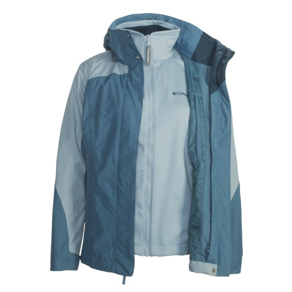 photo: Columbia Heritage Peak Jacket component (3-in-1) jacket