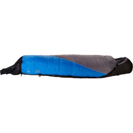 photo: Sierra Designs Big Dog 20 3-season synthetic sleeping bag