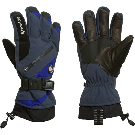photo: Grandoe Men's Tundra Nylon Glove insulated glove/mitten