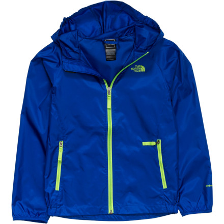 photo: The North Face Boys' Altimont Hoodie waterproof jacket