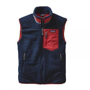 photo: Patagonia Men's Classic Retro-X Vest fleece vest