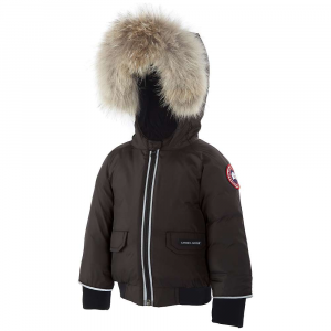 photo: Canada Goose Baby Elijah Bomber down insulated jacket