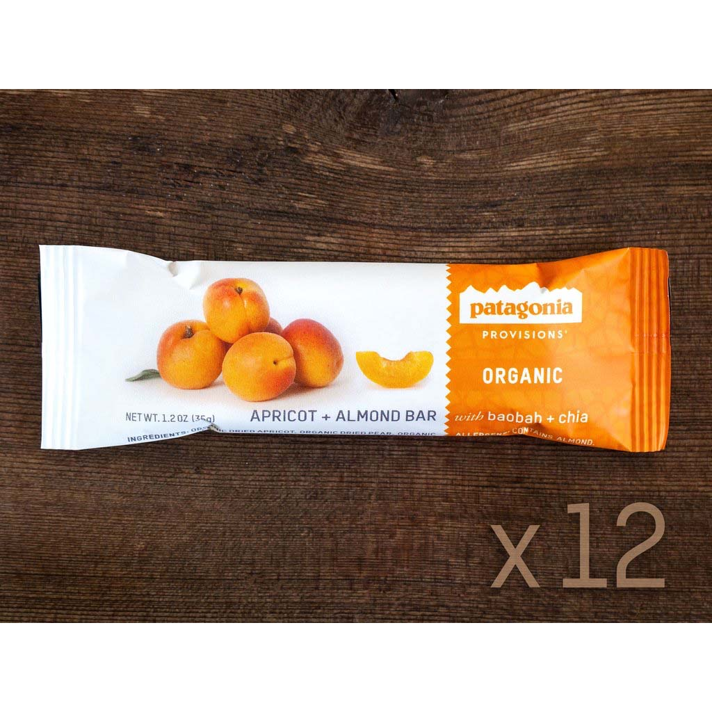 photo: Patagonia Provisions Apricot + Almond Bar nutrition bar