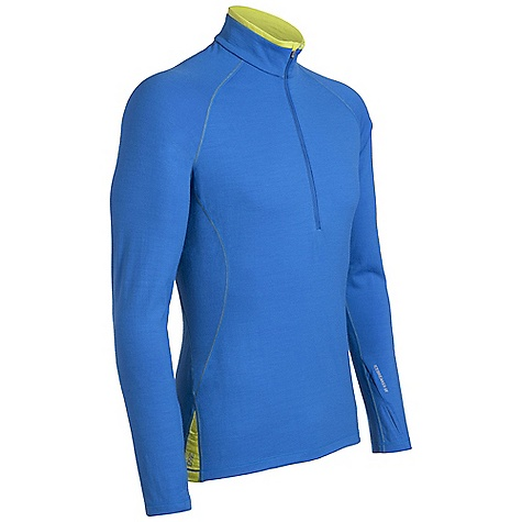 photo: Icebreaker 260 Midweight LS Pursuit Zip long sleeve performance top