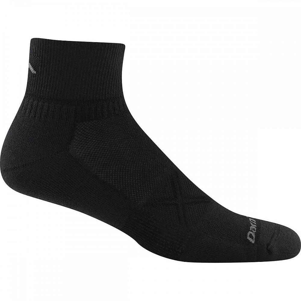photo: Darn Tough Vertex 1/4 Sock Ultra-Light Cushion running sock