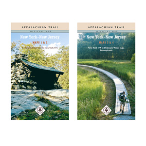 Appalachian Trail Conservancy New York/New Jersey Maps