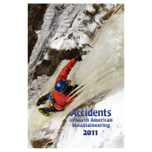 photo of a American Alpine Club skills book