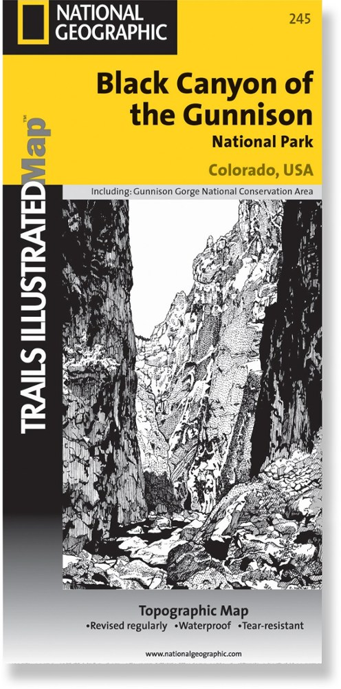 National Geographic Black Canyon of the Gunnison National Park and Curecanti NRA