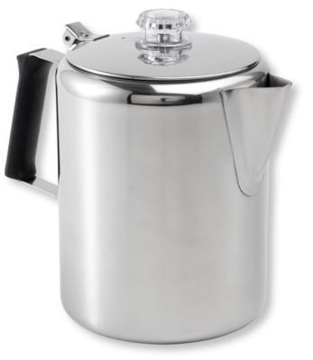 photo: GSI Outdoors Glacier Stainless-Steel Percolator coffee press/filter