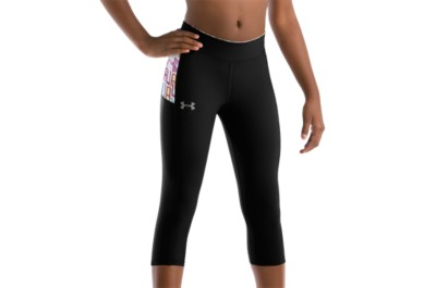 photo: Under Armour Pursuit Capri performance pant/tight