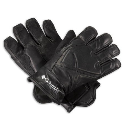 photo: Columbia Men's Storm Trooper Leather Glove insulated glove/mitten