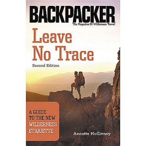 photo: The Mountaineers Books Leave Leave No Trace - A Guide to the New Wilderness Etiquette camping/hiking/backpacking book