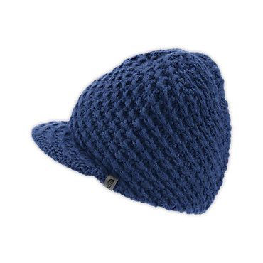 photo: The North Face Men's Chunky Knit Visor Beanie winter hat