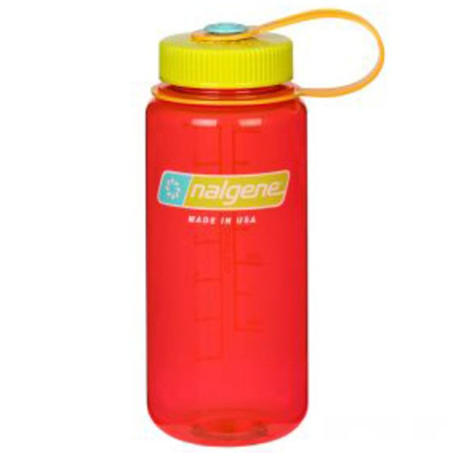 photo: Nalgene 16 oz Wide Mouth Tritan water bottle
