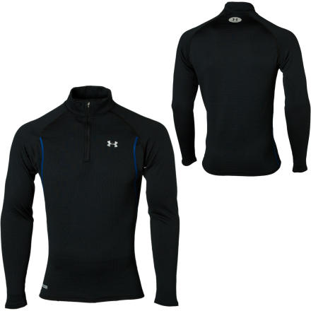 photo: Under Armour Men's ColdGear Base 3.0 1/4 Zip long sleeve performance top