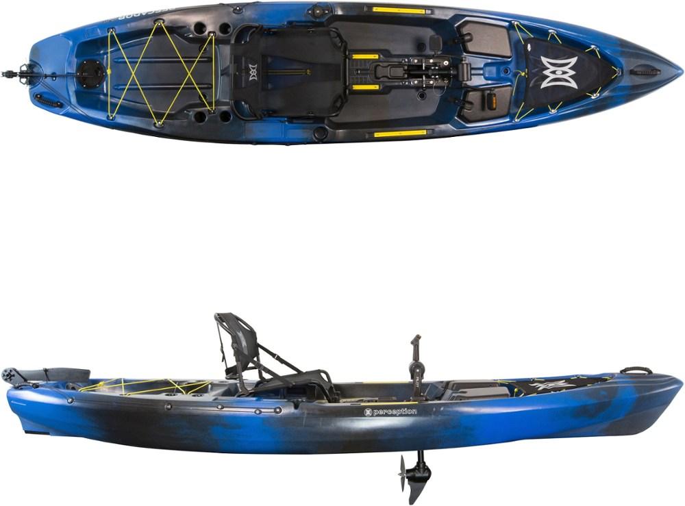 photo: Perception Pescador Pilot 12.0 fishing kayak