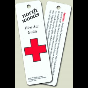 photo of a North Woods first aid/safety/survival book