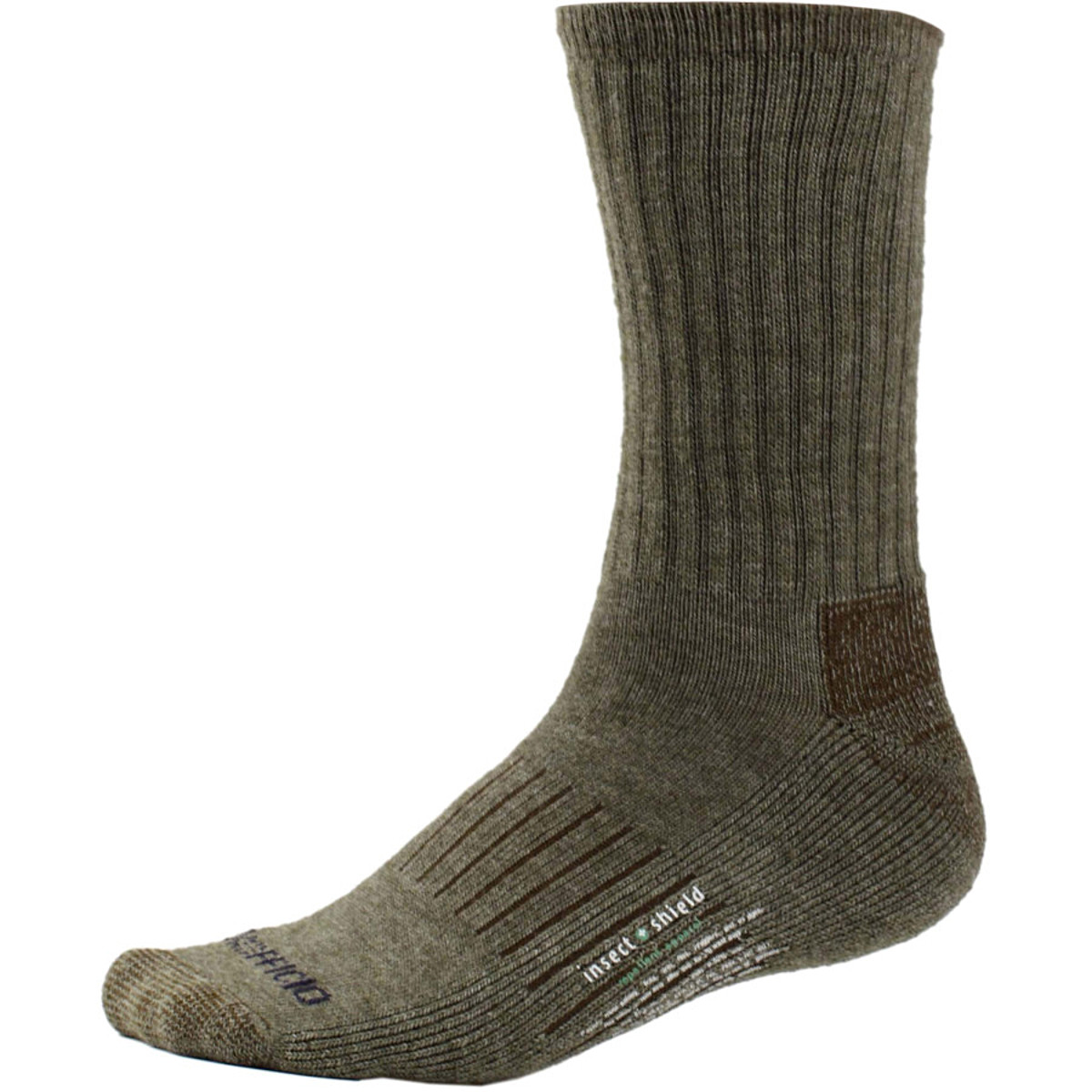 ExOfficio Insect Shield Purdom Vented Hiker Sock
