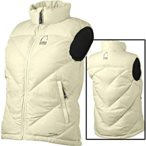 photo: Sierra Designs Iris Vest down insulated vest