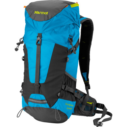 photo: Marmot Kompressor Summit daypack (under 2,000 cu in)