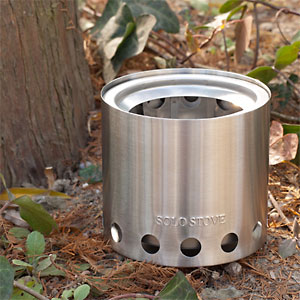 photo of a Solo Stove backpacking/camp stove