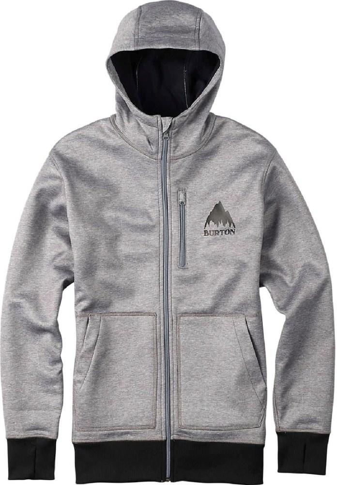 photo: Burton Men's Bonded Full-Zip Hoodie fleece jacket