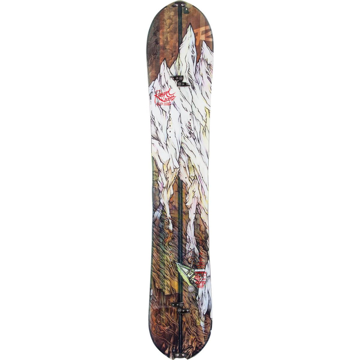 photo: Rossignol XV Magtek Splitboard + Split Kit splitboard