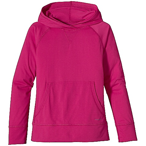 photo: Patagonia Girls' Polarized Hoody long sleeve performance top