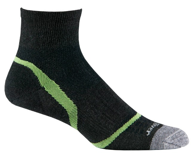 photo: Fox River Ultra Light Velocity Quarter running sock