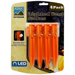 Atak Outdoor Lighted Tent Stakes