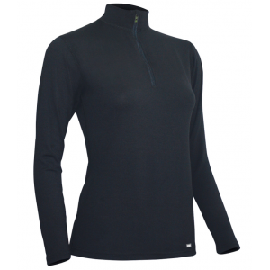 photo: Polarmax Women's 4-Way Stretch Zip Mock T base layer top