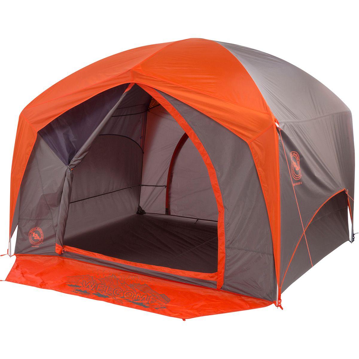 photo: Big Agnes Big House 6 Deluxe three-season tent