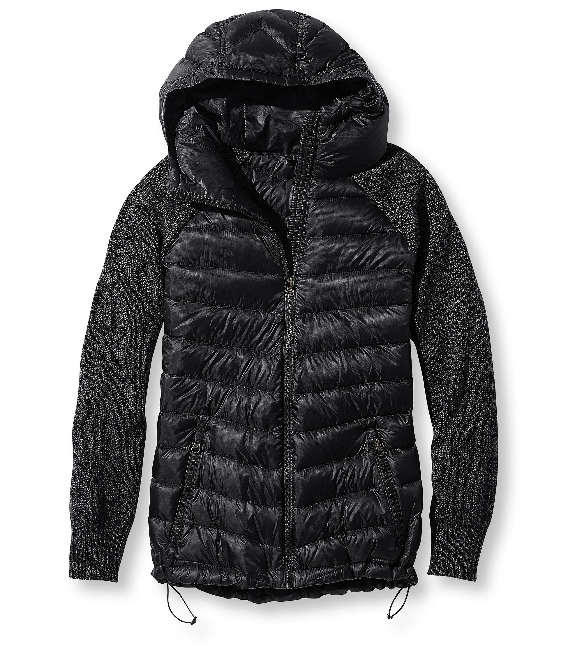 photo: L.L.Bean Maine Lodge Downtek Hoodie down insulated jacket