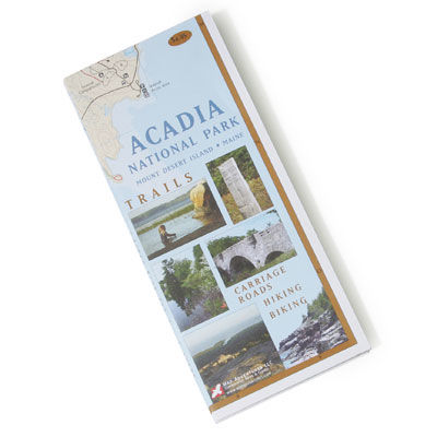 Map Adventures Acadia National Park Map