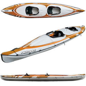 photo: BIC Sport Nomad HP3 Tandem inflatable kayak